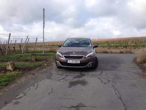 Probefahrt: Peugeot 308 Allure 1.6 THP 125 PS Rich Oak Braun