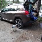 Die moderne Campingküche