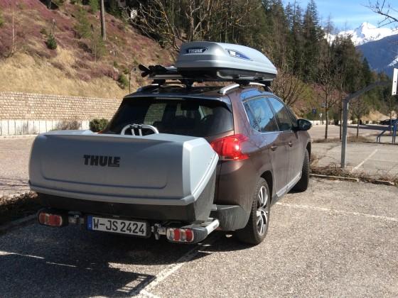 Für den Skiurlaub in Norditalien aufgerüsteter 2008-extender