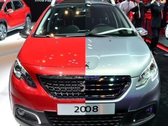 Peugeot-2008 Modellvergleich